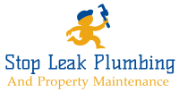 Stop Leak Plumbing Logo